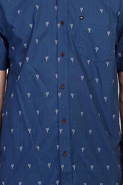 Рубашка Quiksilver Beacons Washed Navy Proskater.ru 1499.000
