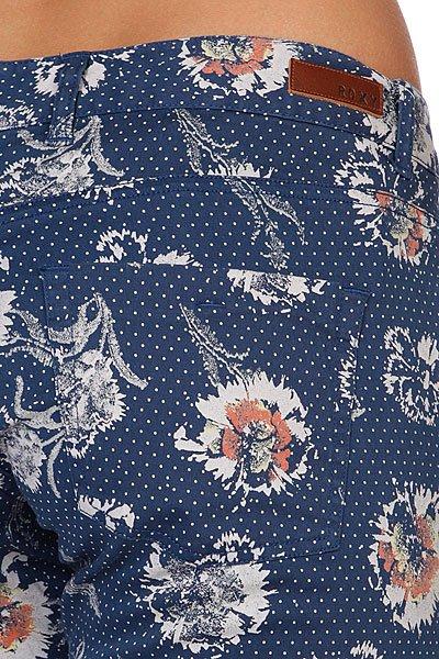 Штаны женские Roxy Skinny Crop Printed Indigo Blue Proskater.ru 1949.000