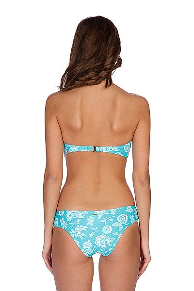 Купальник женский Roxy Twist Bandeau Sweetheart Pant Light Jade Proskater.ru 1599.000