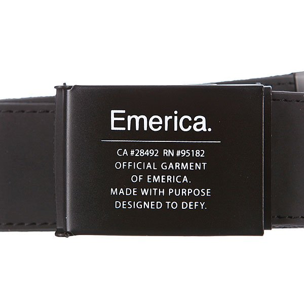 Ремень Emerica Surplus Belt Black Proskater.ru 1160.000