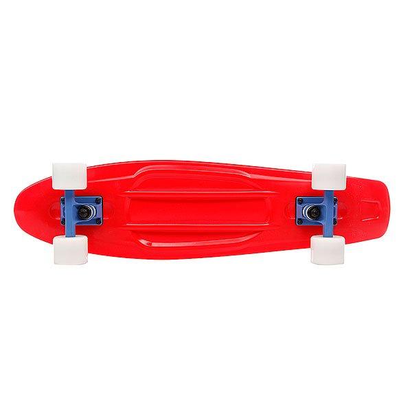 Лонгборд в сборе Union Plastic Board Red 27.75 x 7.3 (18.5 см) Proskater.ru 3800.000