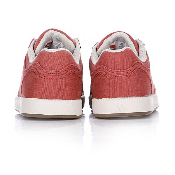 Кеды кроссовки детские Quiksilver Little Area 5 Cvs Red/White/Brown Proskater.ru 1299.000