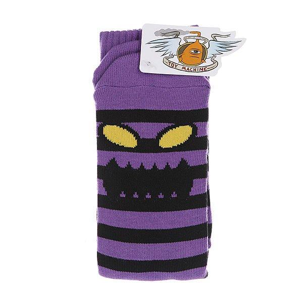 Носки Toy Machine Monster Stripe Prp/Blk Proskater.ru 470.000
