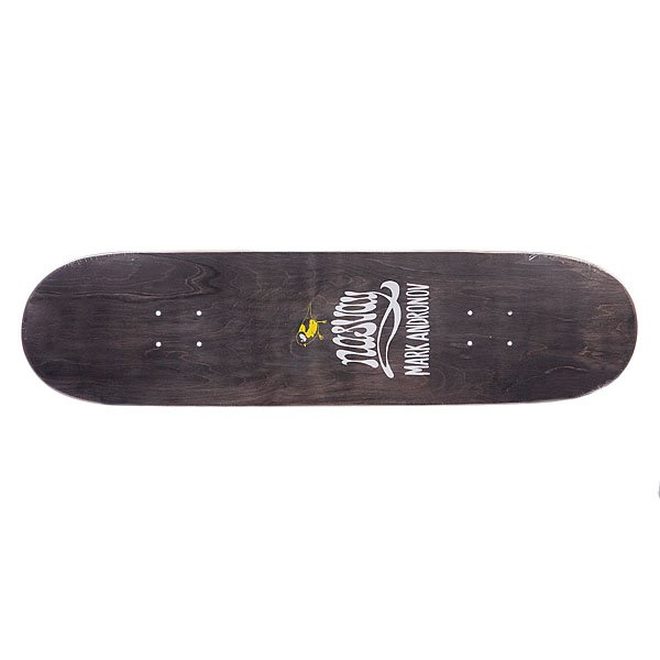 Дека для скейтборда для скейтборда Nasvay Andronov Flakon Black 8.3 (21.1 см) Proskater.ru 1260.000