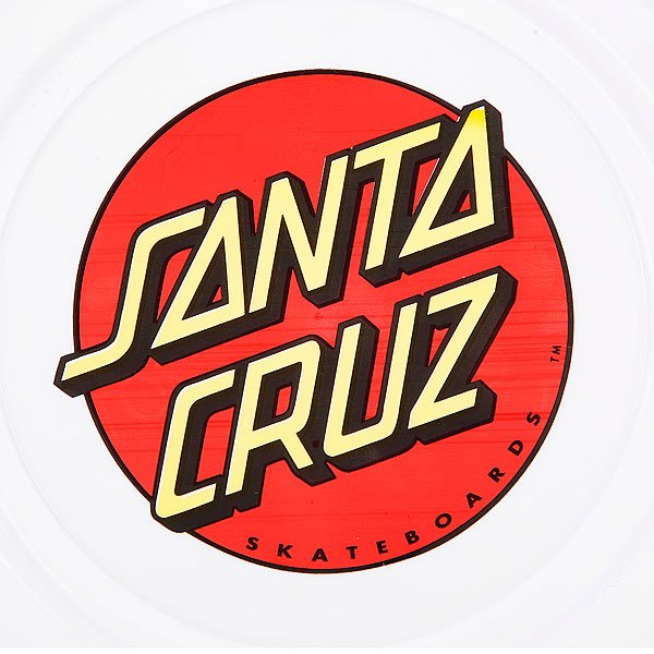 Фрисби Santa Cruz Classic Dot Flyer White Proskater.ru 390.000