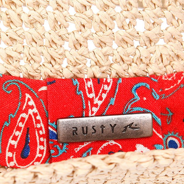 Шляпа женская Rusty Split Beach Hat Natural Proskater.ru 839.000