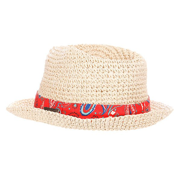 Шляпа женская Rusty Split Beach Hat Natural Proskater.ru 839.000