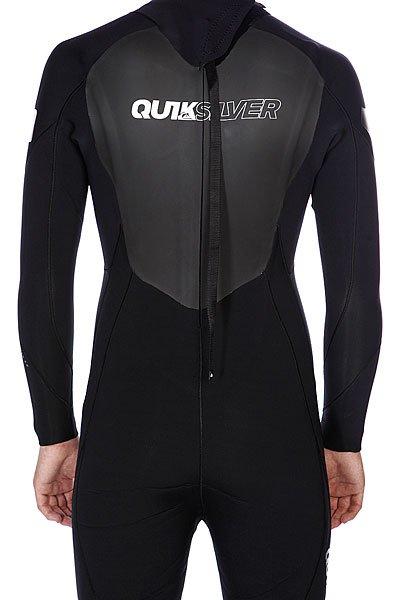 Гидрокостюм (Комбинезон) Quiksilver 4/3 mm Sl Back Zip Full Black Proskater.ru 8590.000