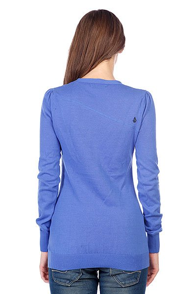 Джемпер женский Volcom Rebel Sweater Bright Blue Proskater.ru 2179.000