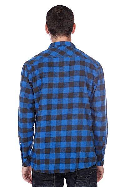 Рубашка в клетку Quiksilver Gulls Olympian Blue Proskater.ru 3190.000