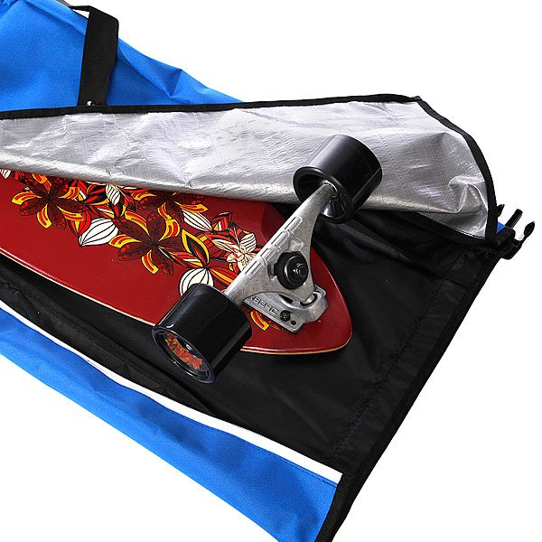 Чехол для лонгборда Skate Bag Sun Hill Blue/Red Proskater.ru 2100.000