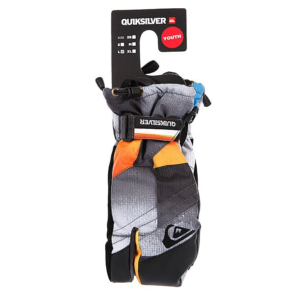 Варежки сноубордические детские Quiksilver Tricks Youth Mitt Aop Redemption Checkblue Redem Proskater.ru 1680.000