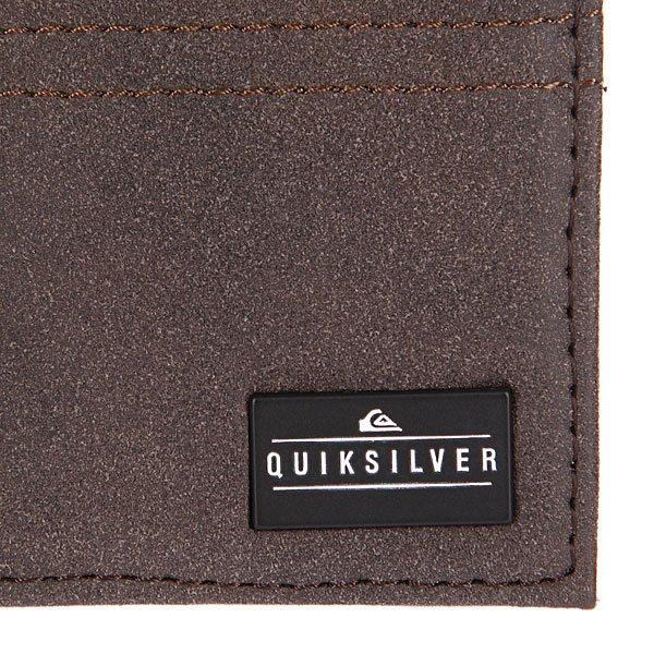 Кошелек Quiksilver Stitchy Chocolate Proskater.ru 1290.000