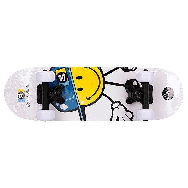 Скейтборд в сборе детский My Area Smiley Kiddy Cool 6.0 (15.3 см) Proskater.ru 1980.000