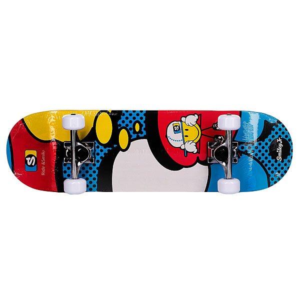 Скейтборд в сборе детский My Area Smiley Kiddy Comic 8.0 (20.3 см) Proskater.ru 2280.000