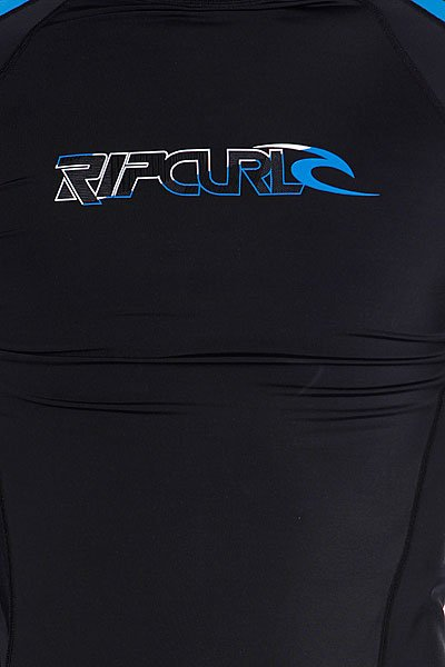 Гидрокостюм (Верх) Rip Curl Stripe L/S Rash Vest Black/Blue/White Proskater.ru 1940.000