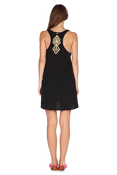 Платье женское Rusty Jewel Dress Black Proskater.ru 1079.000