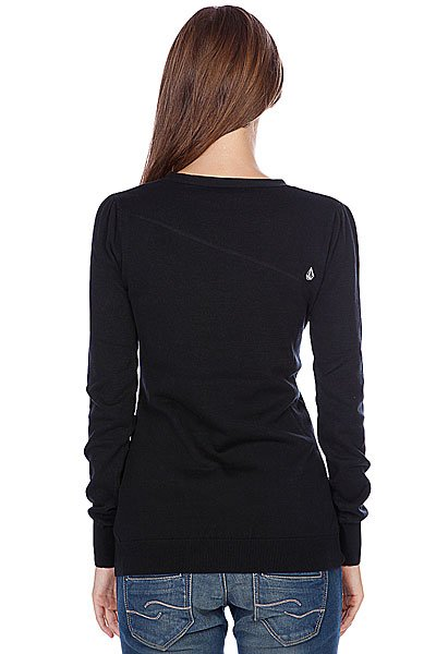Свитер женский Volcom Rebel Sweater Black Proskater.ru 3450.000