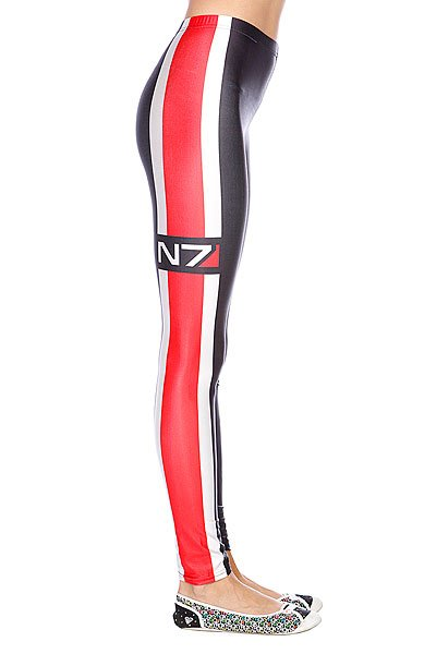 Леггинсы женские Turbo-FB Mass Effect N7 Black/Red Proskater.ru 1400.000