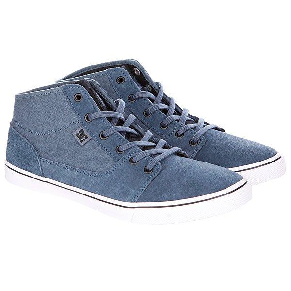 Кеды кроссовки высокие женские DC Tonik Mid W Blue Proskater.ru 3950.000