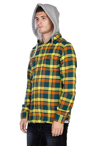 Рубашка в клетку DC Aberdeen Ls Atlan Deep Aber Proskater.ru 3950.000