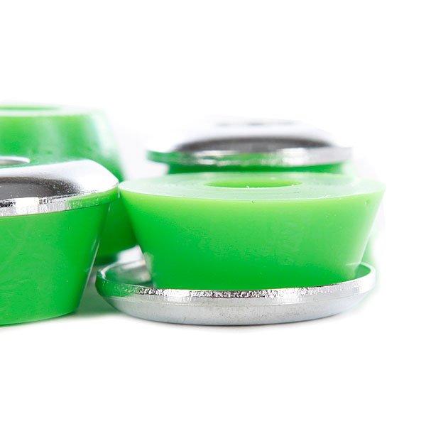 Амортизаторы для скейтборда Creature Cfsu Medium 90a Green Proskater.ru 320.000