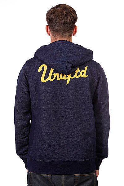 Толстовка Undefeated Chain Zip Up Hood Indigo Proskater.ru 5950.000