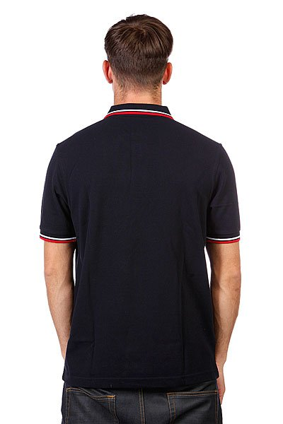 Поло Fred Perry Slim Fit Twin Tipped Black Proskater.ru 3950.000