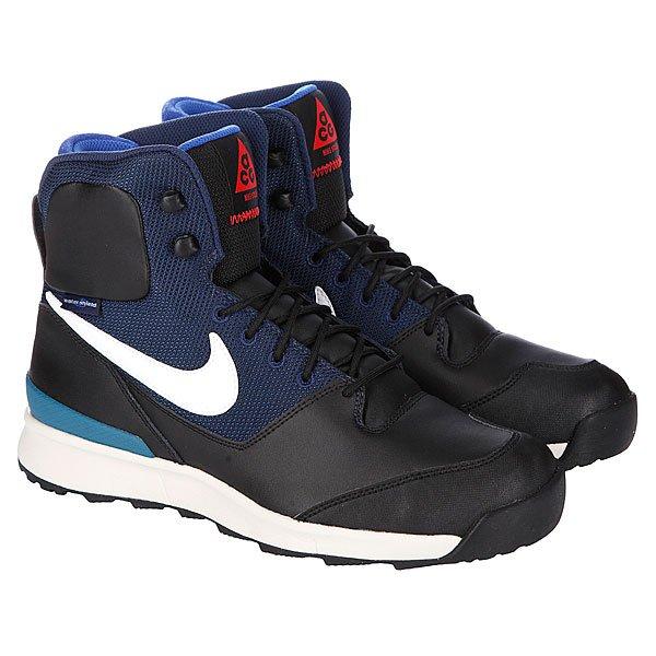 Ботинки зимние Nike ACG Stasis Black/White/Mid Navy Proskater.ru 4850.000