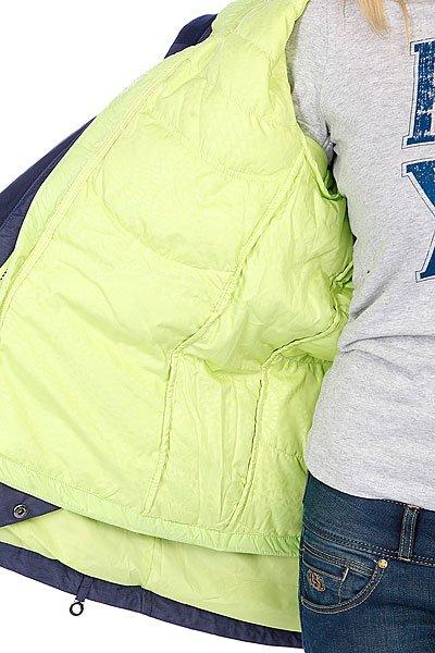 Куртка утепленная женская Roxy Free Spirit System Jk Peacoat Proskater.ru 21290.000