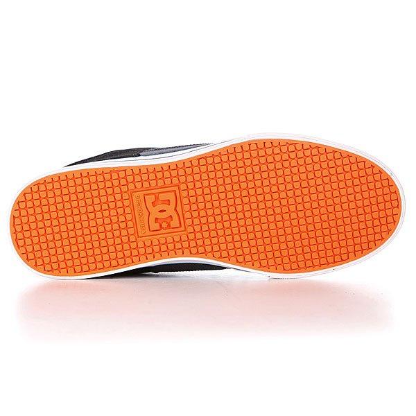 Кеды кроссовки детские DC Shoes Pure Kids Shoe Black/Grey/Blue Proskater.ru 2850.000