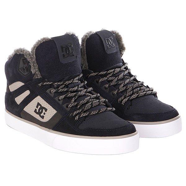 Кеды кроссовки зимние DC Shoes Spartan High Proskater.ru 5650.000