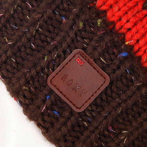 Шапка с помпоном женская Roxy Torah Bright Beanie Hot Coral Proskater.ru 1490.000