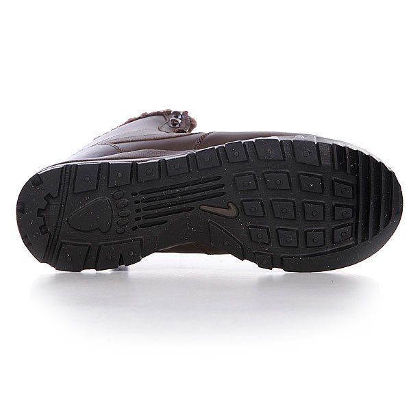 Кеды кроссовки зимние Nike Hoodland Leather Baroque Brown Proskater.ru 4360.000