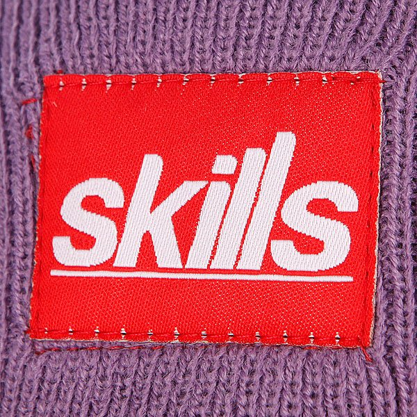 Шапка Skills Sport Beanie Light Green/Purple Proskater.ru 850.000