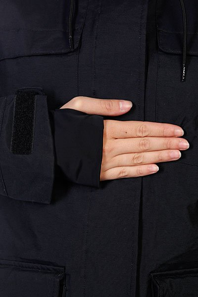 Куртка утепленная женская Colour Wear Ida Jacket Black Proskater.ru 7720.000