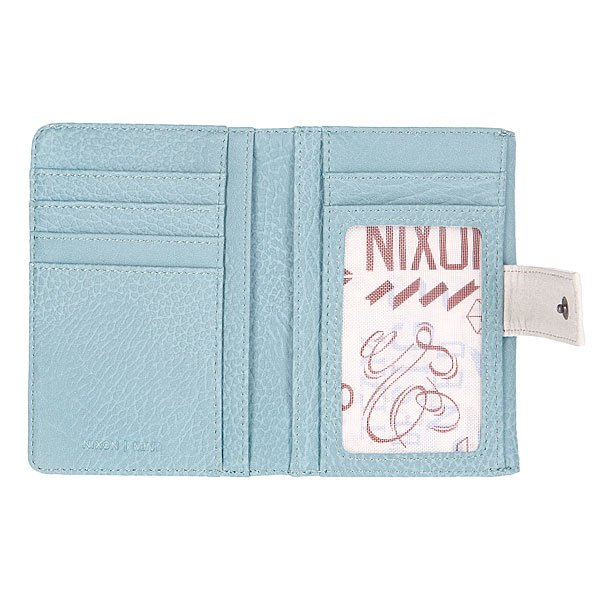 Кошелек женский Nixon Penny Small Wallet Washed Denim/Bone Proskater.ru 1350.000