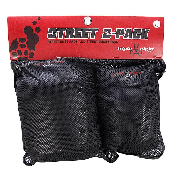Защита на колени и локти Triple Eight Street Protective 2 Pack Proskater.ru 2280.000