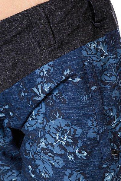 Штаны сноубордические женские Betty Rides Acid Rocker Pant Floral Print Denim Proskater.ru 5950.000