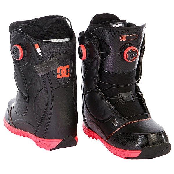 Ботинки для сноуборда женские DC Mora 15 Black Proskater.ru 14350.000