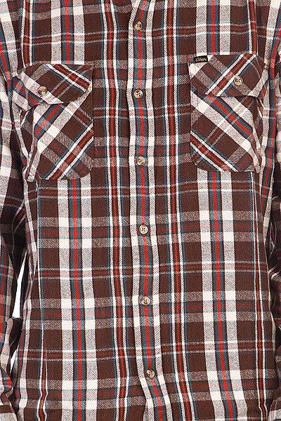 Рубашка Obey Clifton Dark Brown Proskater.ru 3730.000