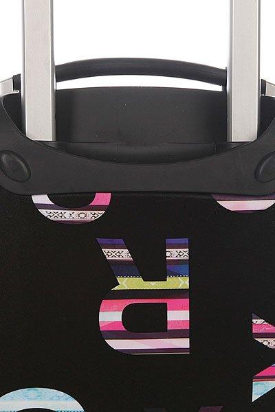 фото Сумка женская дорожная женская Roxy Hard Case Cabin True Black - картинка [4]