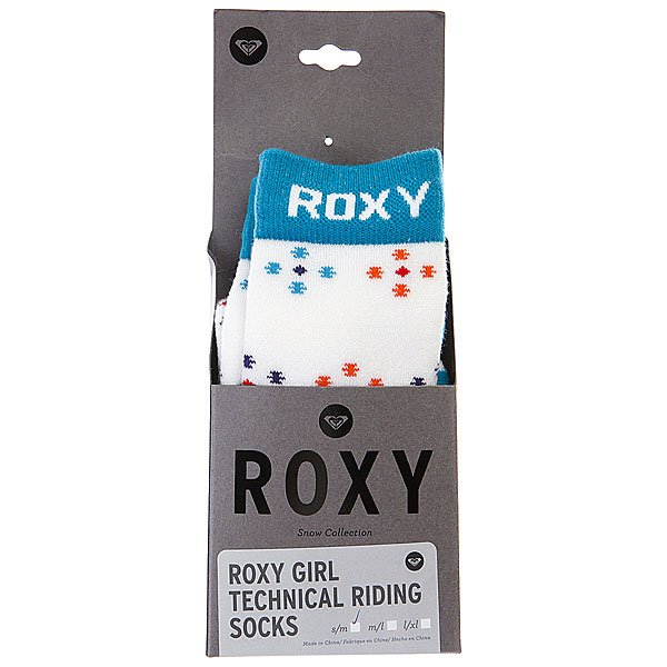 Носки Roxy Run It Back Girl Socks Bright White Proskater.ru 580.000