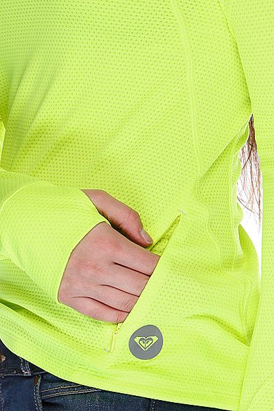 Термобелье (верх) женское Roxy Keep Moving Ls Top Radiant Yellow Proskater.ru 2390.000