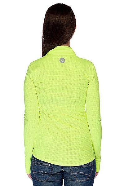 Термобелье (верх) женское Roxy Keep Moving Ls Top Radiant Yellow Proskater.ru 2390.000