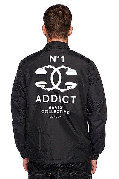 Ветровка Addict Coach Jacket Black Proskater.ru 3600.000