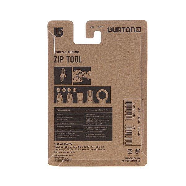 Отвертка универсальная Burton Zip Tool Black от Proskater