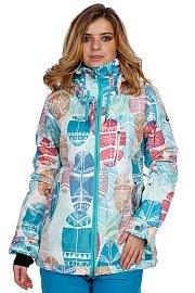Куртка женская Roxy Wildlife Printed White/Blue/Red