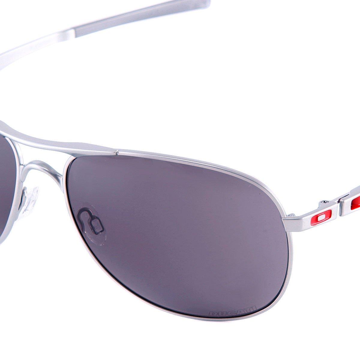 oakley ducati plaintiff sunglasses silver / warm grey | www