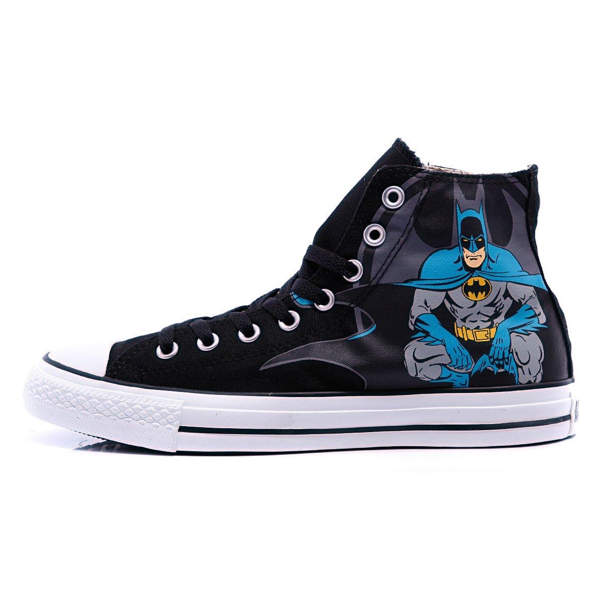 Купить кеды высокие Converse Chuck Taylor Batman Hi Black Print ... 5bedf2c5746a4